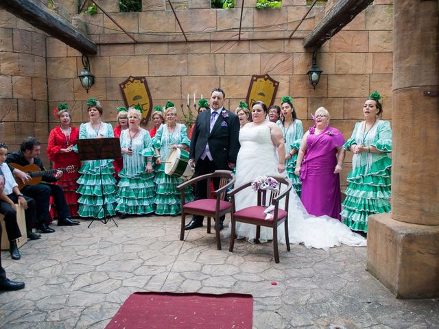 La boda de Daniel  y Gema en Talamanca Del Jarama, Madrid 15