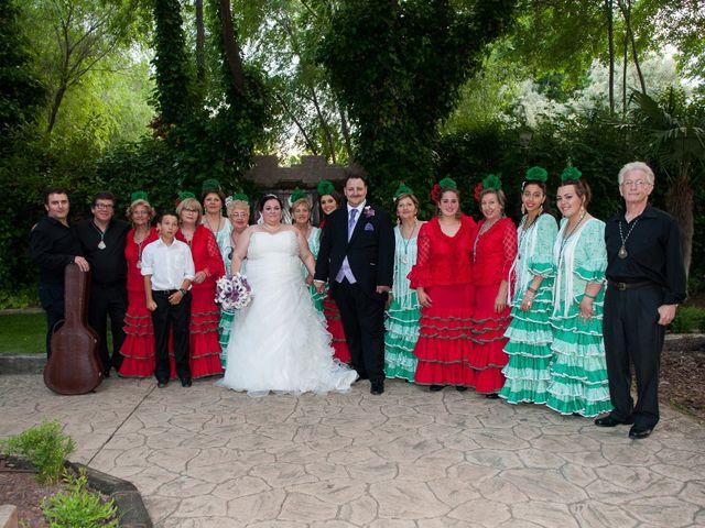 La boda de Daniel  y Gema en Talamanca Del Jarama, Madrid 18