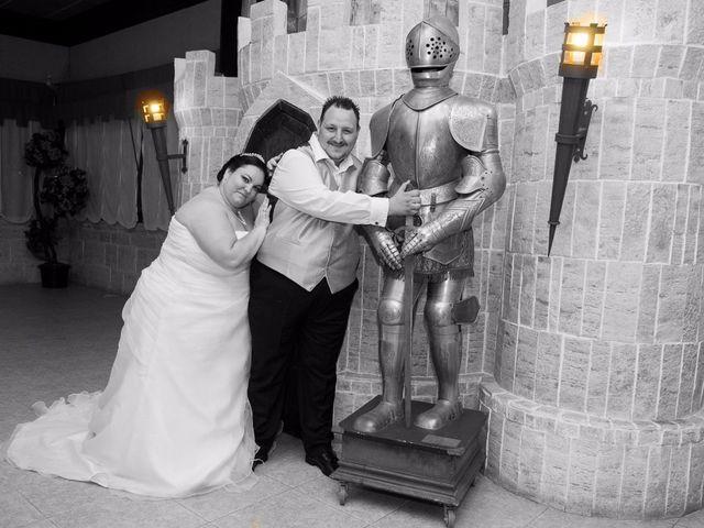 La boda de Daniel  y Gema en Talamanca Del Jarama, Madrid 31