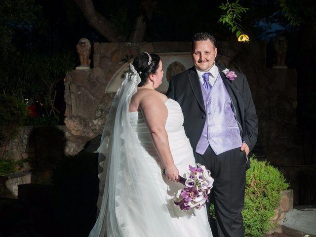 La boda de Daniel  y Gema en Talamanca Del Jarama, Madrid 37