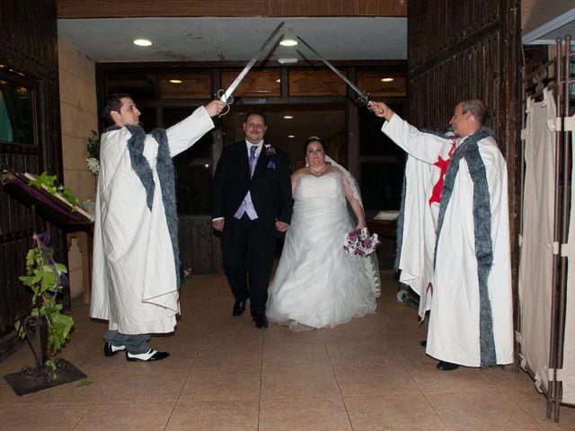 La boda de Daniel  y Gema en Talamanca Del Jarama, Madrid 41