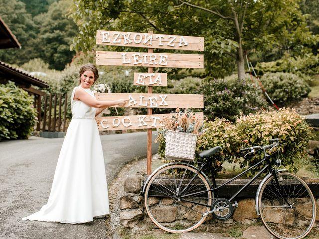 La boda de Alex y Leire en Atxondo, Vizcaya 24