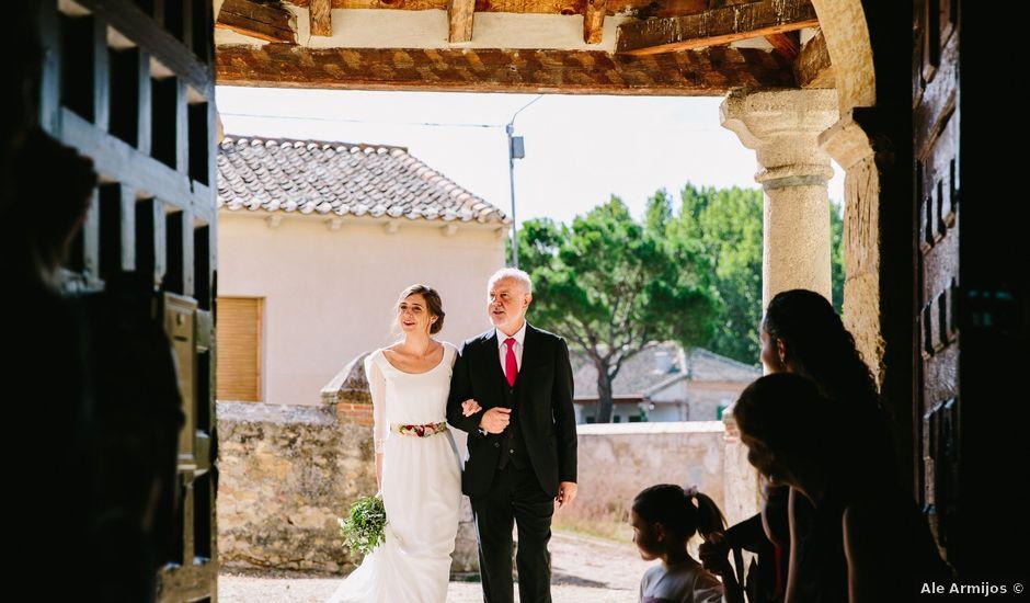 La boda de Javi y Almu en Hoyuelos, Segovia
