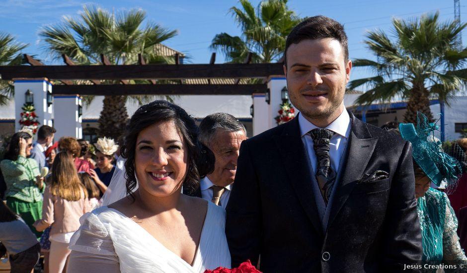 La boda de Antonio Manuel y Vanesa en El Garrobo, Sevilla