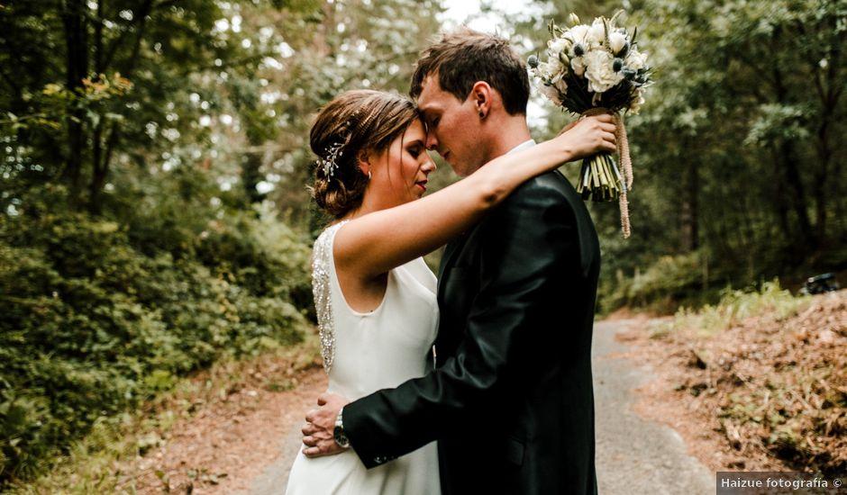 La boda de Alex y Leire en Atxondo, Vizcaya