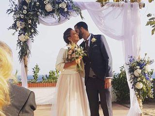 La boda de Elga y David