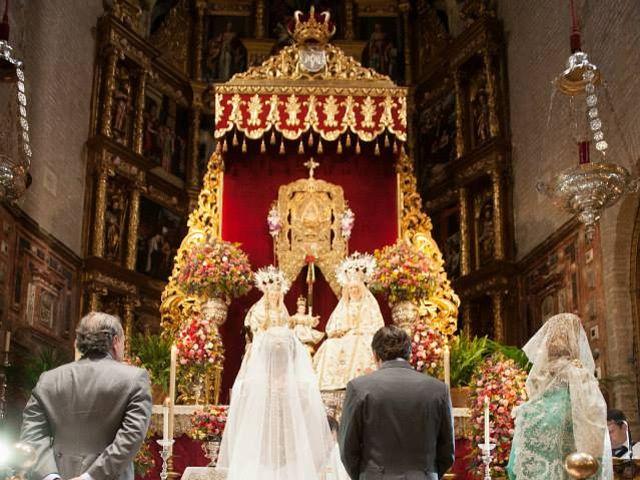 La boda de Jesús y Carmen en Sevilla, Sevilla 1