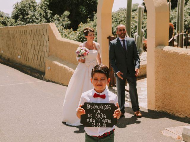 La boda de Goyo y Ana en Guimar, Santa Cruz de Tenerife 22