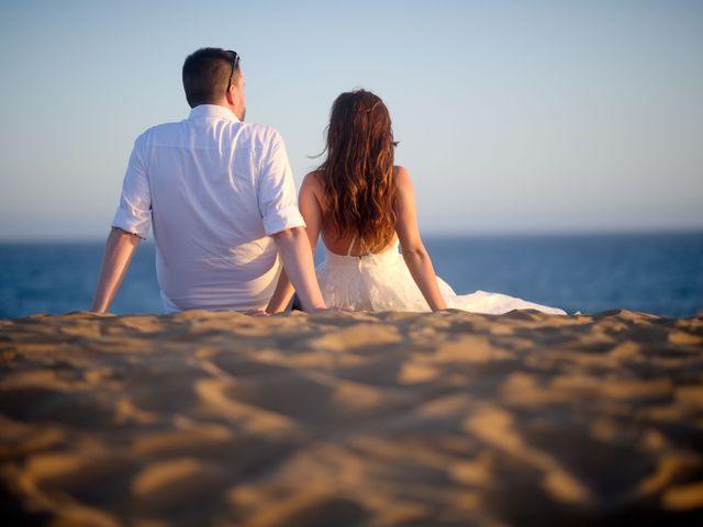 La boda de Jens-Uwe y Paula en Las Palmas De Gran Canaria, Las Palmas 11
