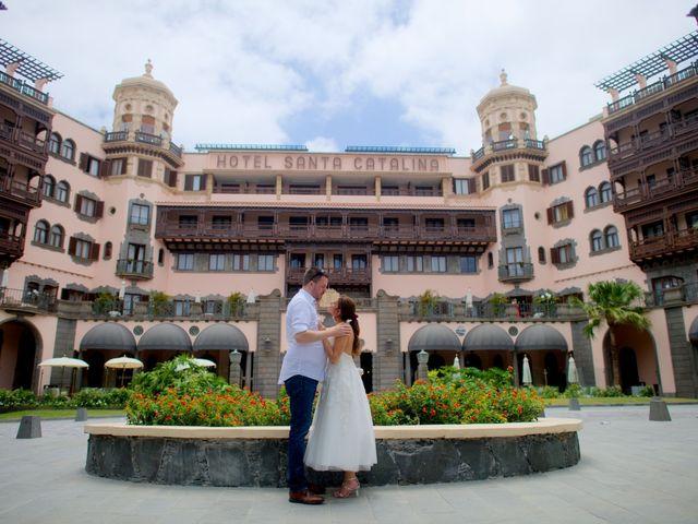 La boda de Jens-Uwe y Paula en Las Palmas De Gran Canaria, Las Palmas 1