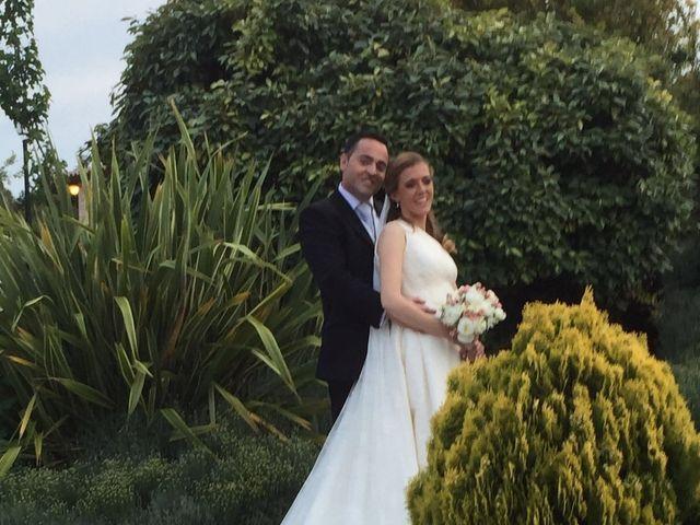 La boda de Eduardo y Cristina en La Torre De Esteban Hambran, Toledo 1
