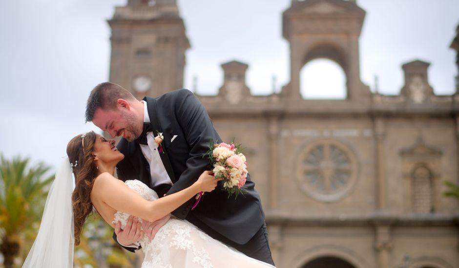 La boda de Jens-Uwe y Paula en Las Palmas De Gran Canaria, Las Palmas