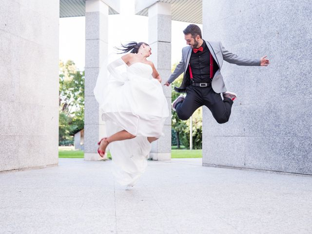 La boda de Gentzane y Julio