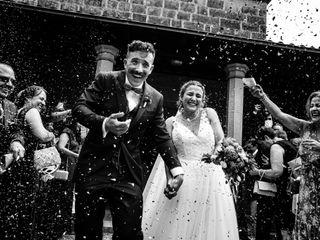 La boda de Carolina y Josu