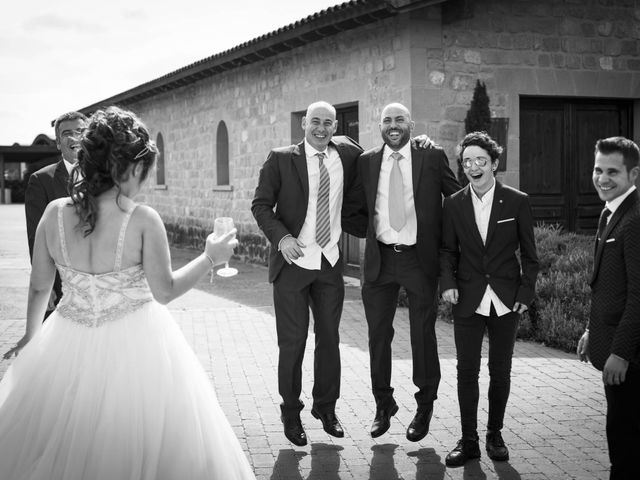 La boda de Álvaro y Sarai en Elciego, Álava 32