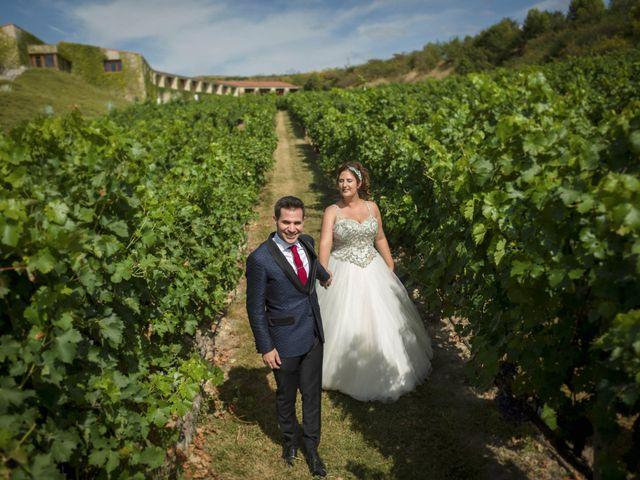 La boda de Álvaro y Sarai en Elciego, Álava 35