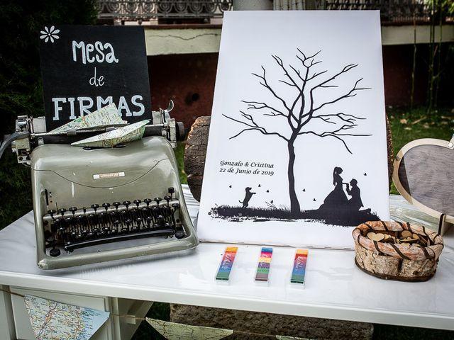 La boda de Gonzalo y Cristina en Galapagos, Guadalajara 35