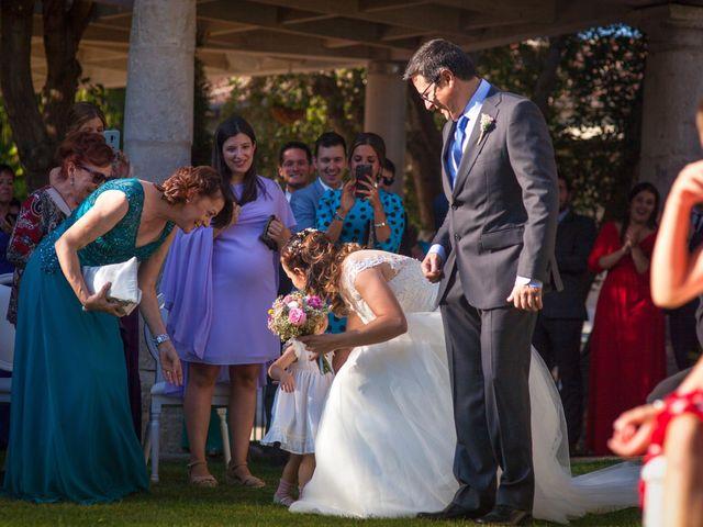 La boda de Miguel Angel y Laura en Sotos De Sepulveda, Segovia 8