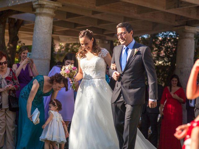 La boda de Miguel Angel y Laura en Sotos De Sepulveda, Segovia 9