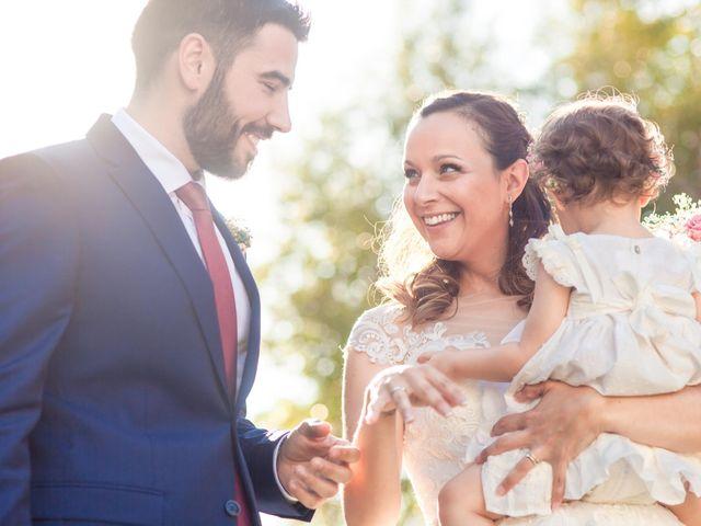 La boda de Miguel Angel y Laura en Sotos De Sepulveda, Segovia 1