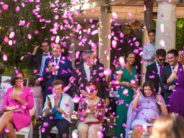 La boda de Miguel Angel y Laura en Sotos De Sepulveda, Segovia 18