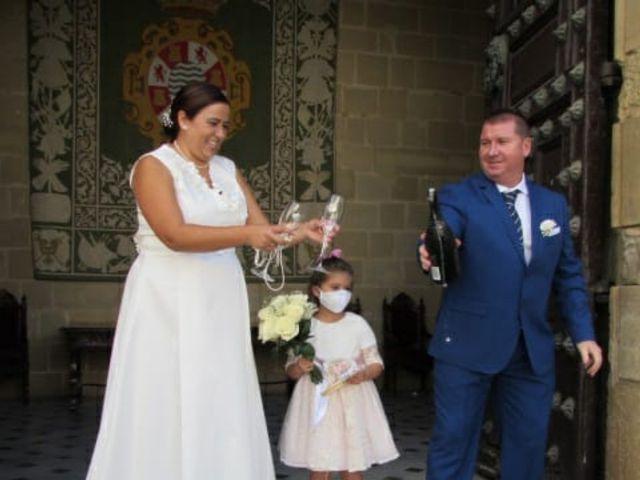 La boda de Juan Antonio  y  Camelia  en Jerez De La Frontera, Cádiz 4