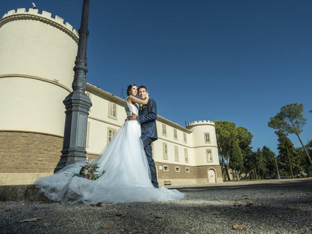 La boda de Eva y Albert en El Castell Del Remei, Lleida 32