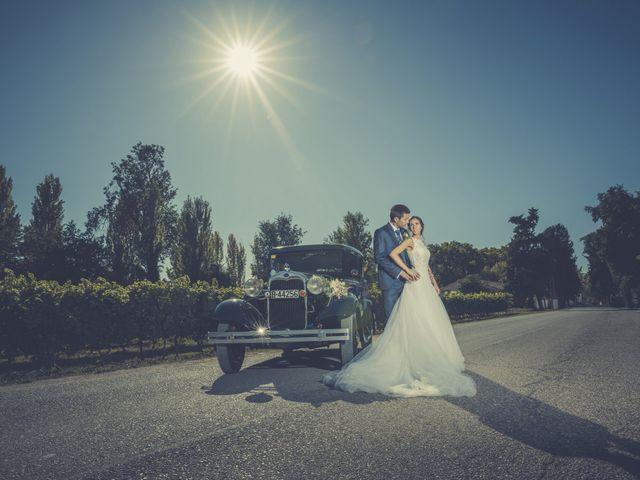 La boda de Albert y Eva