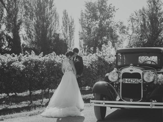 La boda de Eva y Albert en El Castell Del Remei, Lleida 38