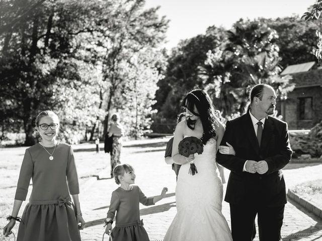 La boda de Sergio y Rosa en Valdastillas, Cáceres 42