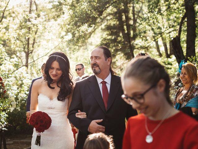 La boda de Sergio y Rosa en Valdastillas, Cáceres 44