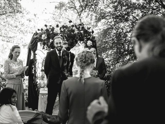 La boda de Sergio y Rosa en Valdastillas, Cáceres 45