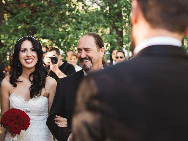 La boda de Sergio y Rosa en Valdastillas, Cáceres 46