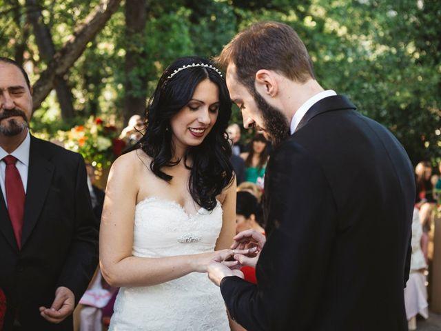 La boda de Sergio y Rosa en Valdastillas, Cáceres 48