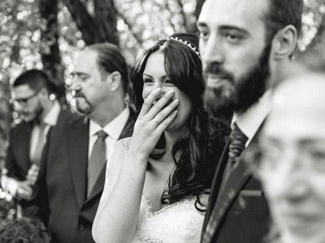 La boda de Sergio y Rosa en Valdastillas, Cáceres 50