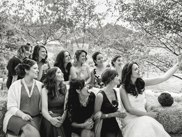 La boda de Sergio y Rosa en Valdastillas, Cáceres 57