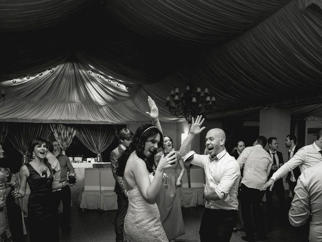La boda de Sergio y Rosa en Valdastillas, Cáceres 78