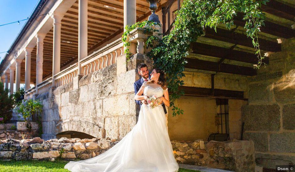 La boda de Miguel Angel y Laura en Sotos De Sepulveda, Segovia