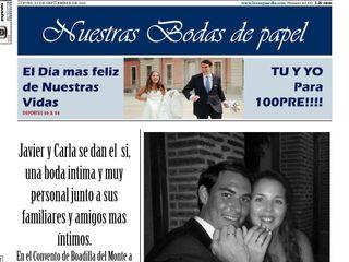 La boda de Javier  y Carla  3