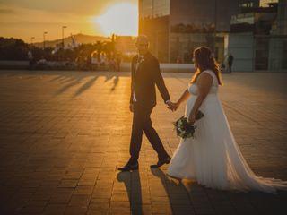 La boda de Asumpta y Blas