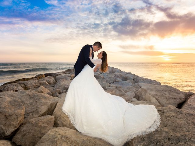 La boda de Belen y David