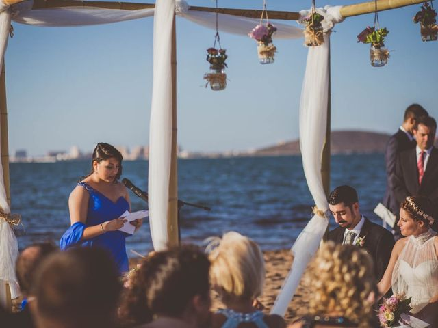 La boda de Vicente y Ascensión en El Beal, Murcia 100