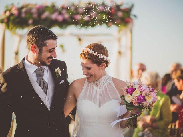 La boda de Ascensión y Vicente
