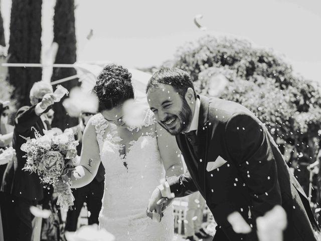 La boda de Marina y Juan A.