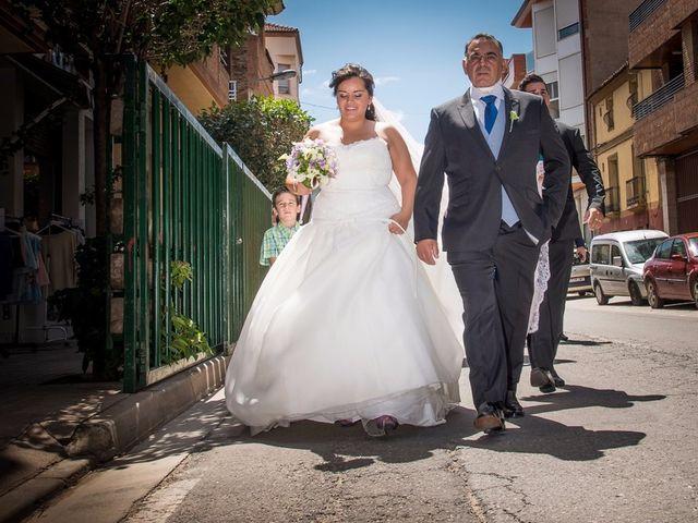 La boda de Andrés y Lucia en Rincon De Soto, La Rioja 21