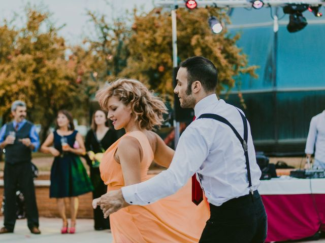 La boda de Carmen y Tom en Trujillo, Cáceres 33