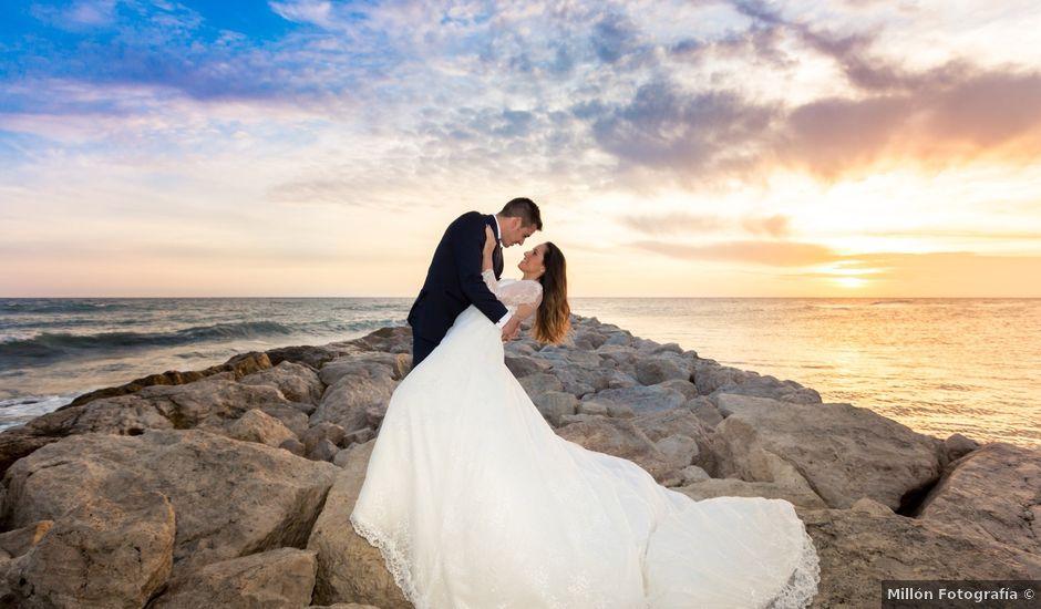 La boda de David y Belen en Torre Del Mar, Málaga