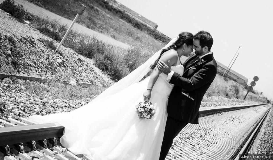La boda de Andrés y Lucia en Rincon De Soto, La Rioja