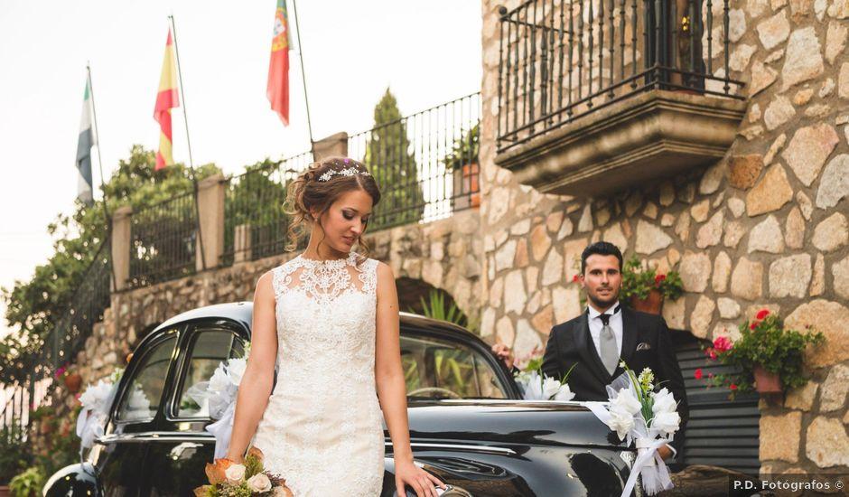 La boda de Oswaldo y María en San Vicente De Alcantara, Badajoz