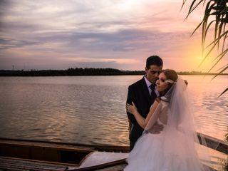 La boda de Karina y David